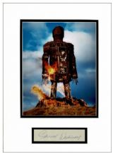 Edward Woodward Autograph Signed - Wicker Man